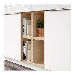 Tutemo Open Cabinet Ash 9x14 3 4x15 Rangement Ouvert
