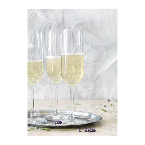 Pssst — Ikea's Having A Winter Sale & It's GOOD #refinery29  http://www.refinery29.com/2016/12/133708/ikea-winter-sale-2016#slide-24  Hederlig Champagne Flutes, $1.99 $1.49, available at Ikea....