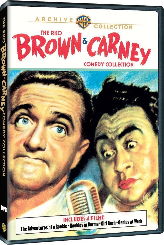 The RKO Brown and Carney Comedy Collection DVD Review The