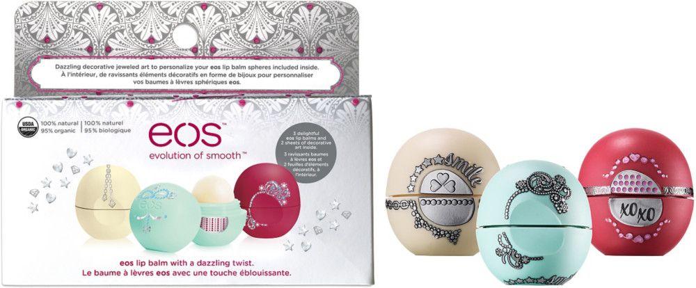 Eos Holiday 2015 Lip Balm Gift Set The Balm Lip Balm Eos