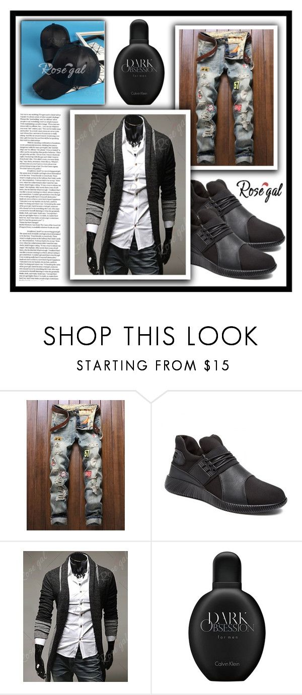 """""""Dark Obsession"""" by amra-sarajlic ❤ liked on Polyvore featuring Calvin Klein"""