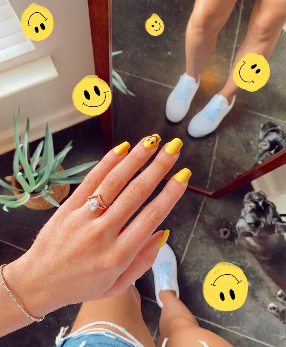 Hannah Neese In 2020 Swag Nails Best Acrylic Nails Simple Acrylic Nails