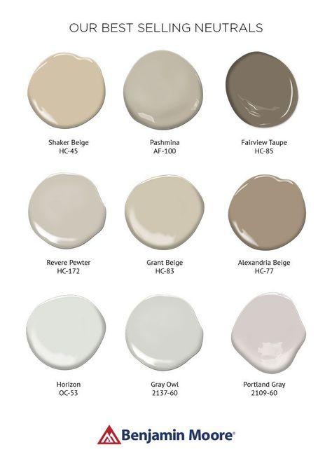 41+ Trendy living room grey beige benjamin moore in 2020 ...