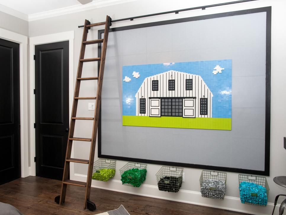 Fixer Upper A Very Special House In The Country Lego Room Lego Wall Big Boy Room