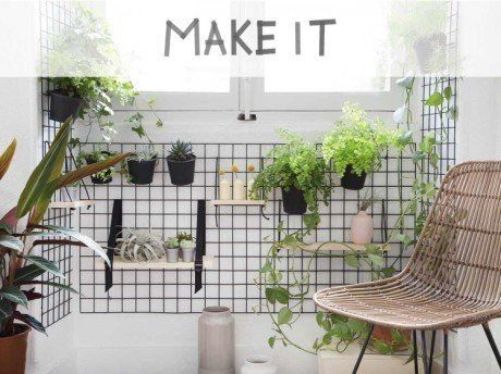 diy r aliser un mur v g tal d 39 int rieur leroy merlin r ver de verdure mur vegetal mur. Black Bedroom Furniture Sets. Home Design Ideas