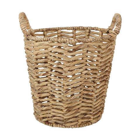 Herringbone Basket With Handles Basket Wicker Laundry