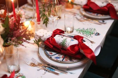 ... Wickstead\u0027s Christmas dinner hit Instagram this December the winner for the most beautifully festive table setting went to event designer Fiona Leahy. & How To Create The Perfect Christmas Table Setting | Create