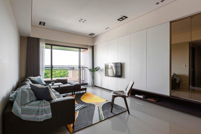 A Contemporary Apartment In Taipei by HOZO