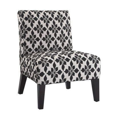 Monaco Accent Chair - Spades Black