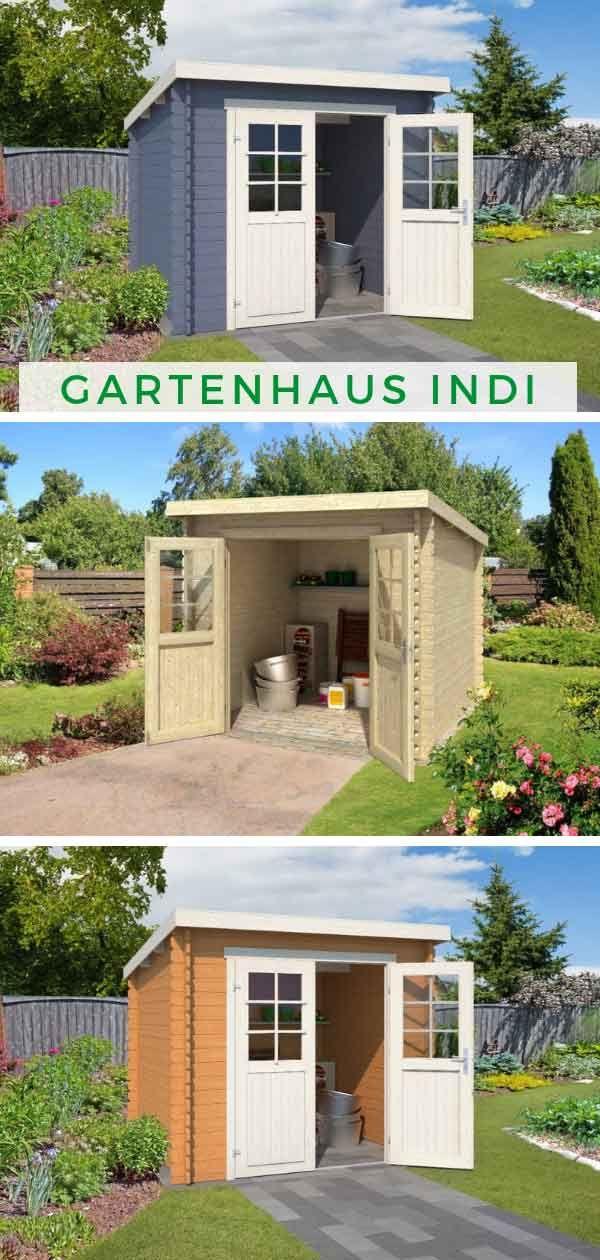 Lasita Maja Gartenhaus Indi 230 1002512 Gartenhaus
