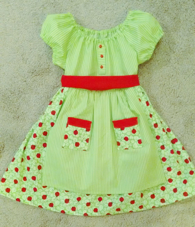 Green dress baby images  Girls ladybug dress Girls green dress Trendy kids clothing Girls