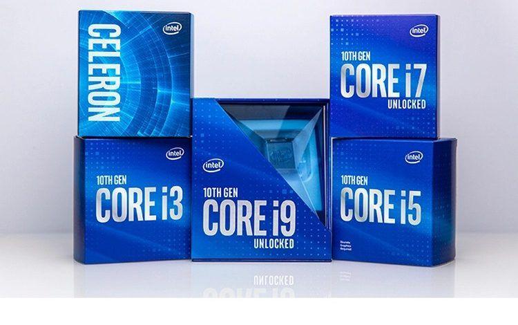 إنتل تكشف عن معالجات سطح المكتب Comet Lake من الجيل العاشر بسرعات تصل إلى 5 3 جيجا هرتز Turbo Intel Intel Processors Intel Core