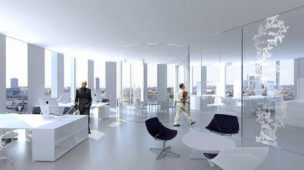 Maersk Building, extension of the Panum complex at the University of Copenhagen C.F. Møller