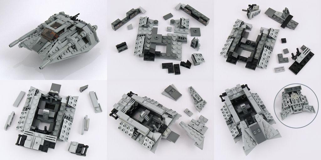 T 47 Instructions Part 1 Lego Pinterest Lego Star And Lego