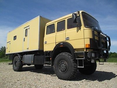 iveco magirus 160 23ahw 4x4 wohnmobil first class als. Black Bedroom Furniture Sets. Home Design Ideas