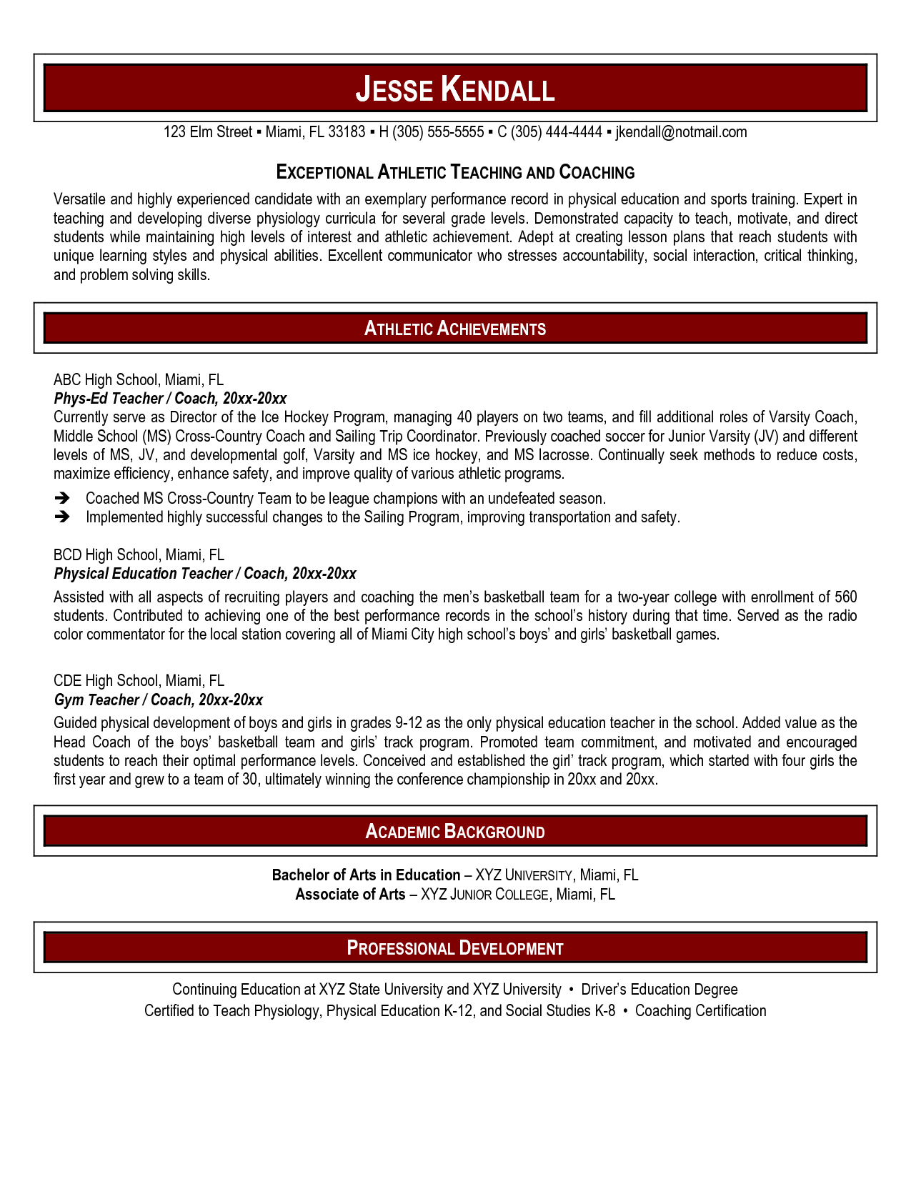 Art Teacher Resume Examples - http://www.resumecareer.info/art ...