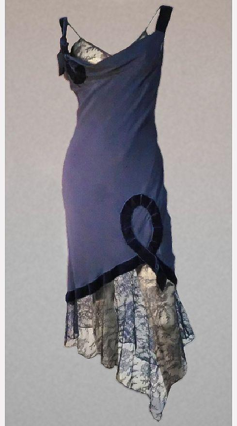 John Galliano silk slip dress,   1990s