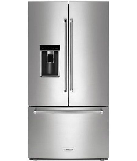 Krfc704fps 23 8 Cu Ft 36 Counter Depth French Door The Largest Capacity French Door Refrigerator Fridge French Door Counter Depth French Door Refrigerator