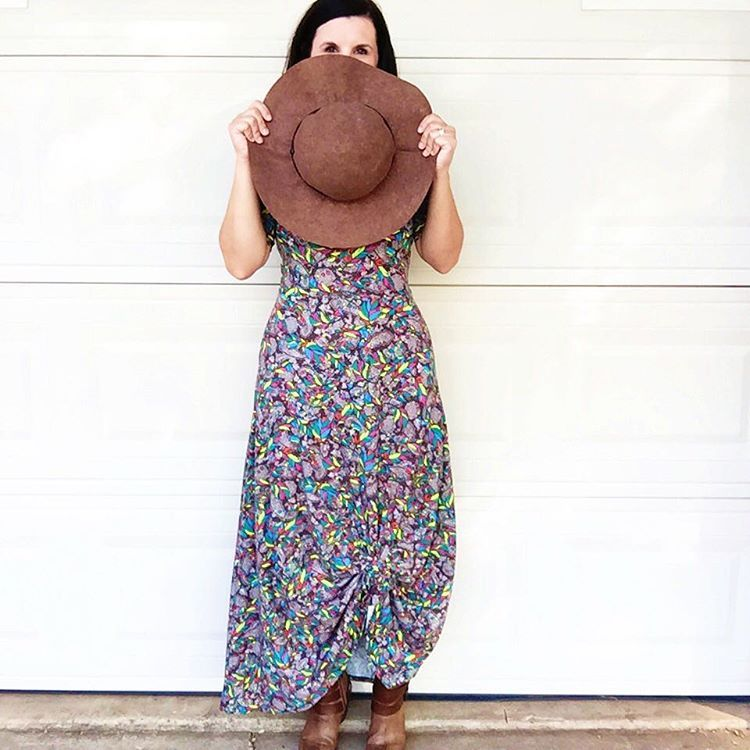 How to tie up your maxi dress