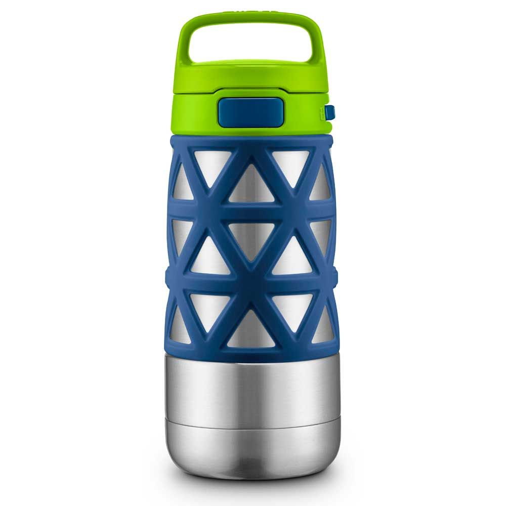 Blue THERMOS Vacuum Insulated Stainless Steel Carbonated Beverage Bottle 17-Ounce