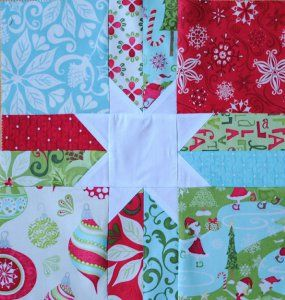 Scrappy Christmas Star Block | Christmas stars, Star and Tutorials : quilt for christmas - Adamdwight.com