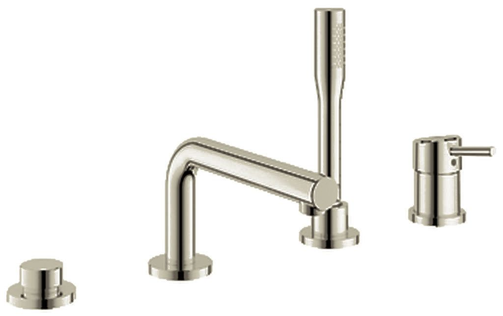 Grohe 19 576 With Images Tub Filler Roman Tub Hand Shower