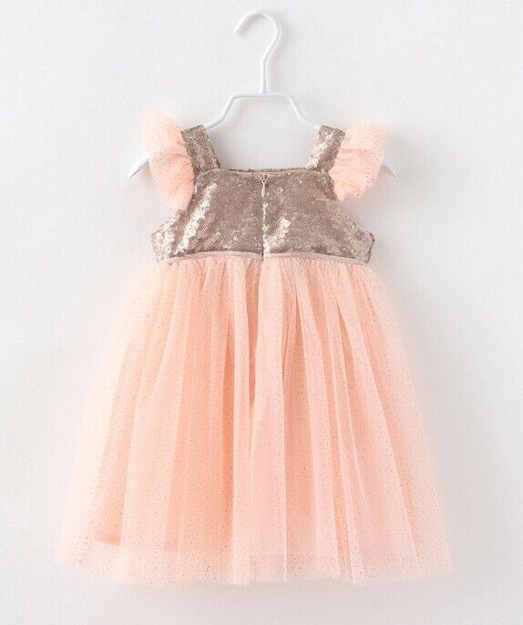 5pieces/lot, Summer Flying Sleeve Pink Kids Girls Sequin Dress Children clothing, A bg255-in Dresses from Kids & Mothercare on Aliexpress.com | Alibaba Group