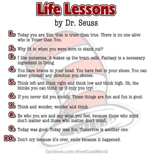 8 love lessons dr seuss photos