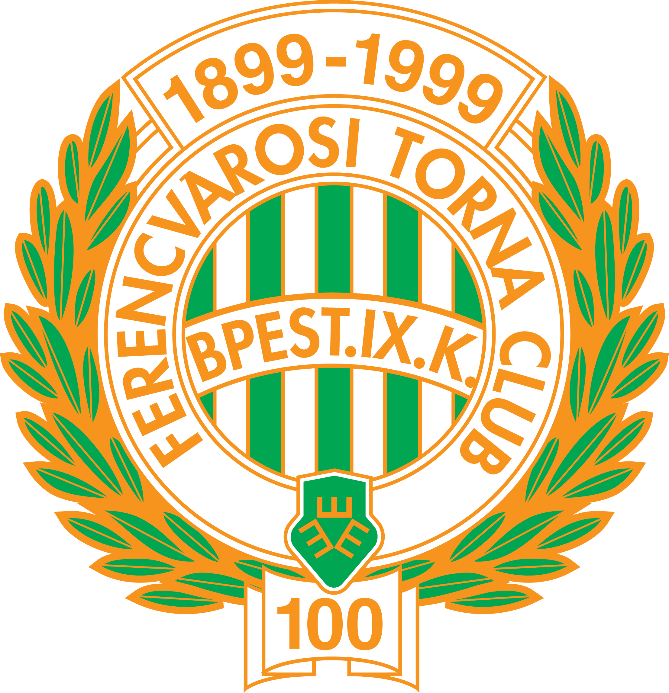 Ferencvaros | Football logo, Logos, Peace symbol