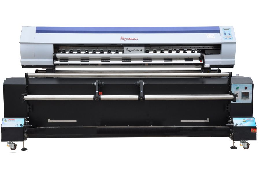 Direct Textile Printer with heater: Double Epson 5113 Heads