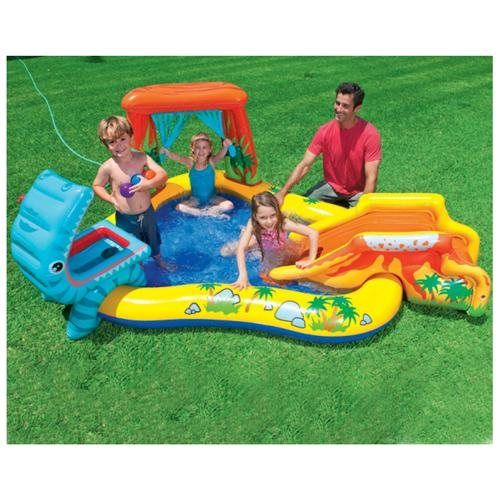Childs Blow Up Play Center Wading Pool Children Swimming Pool Kiddie Pool Play Centre