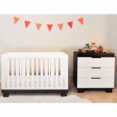 Best Babyletto 2 Piece Nursery Set Modo 3 In 1 Convertible 400 x 300
