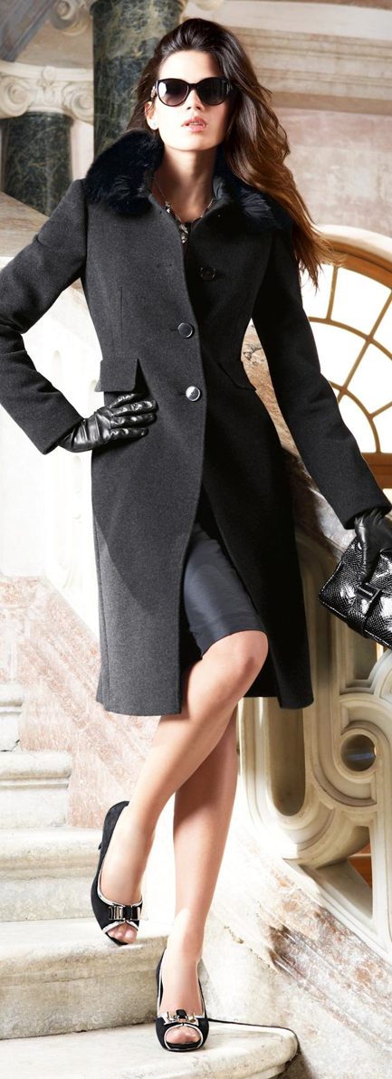 Sophisticated black ensemble. | Timeless Style | Fashion ...