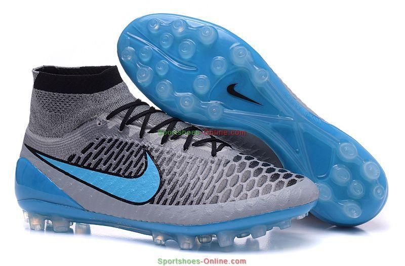 best service cca4c 0feb1 Nike Magista Obra AG R Football Boots Wolf Grey Turquoise BI Black.  Official Billiga Nike Magista Obra FG - Grå Blå Fotbollsskor ...