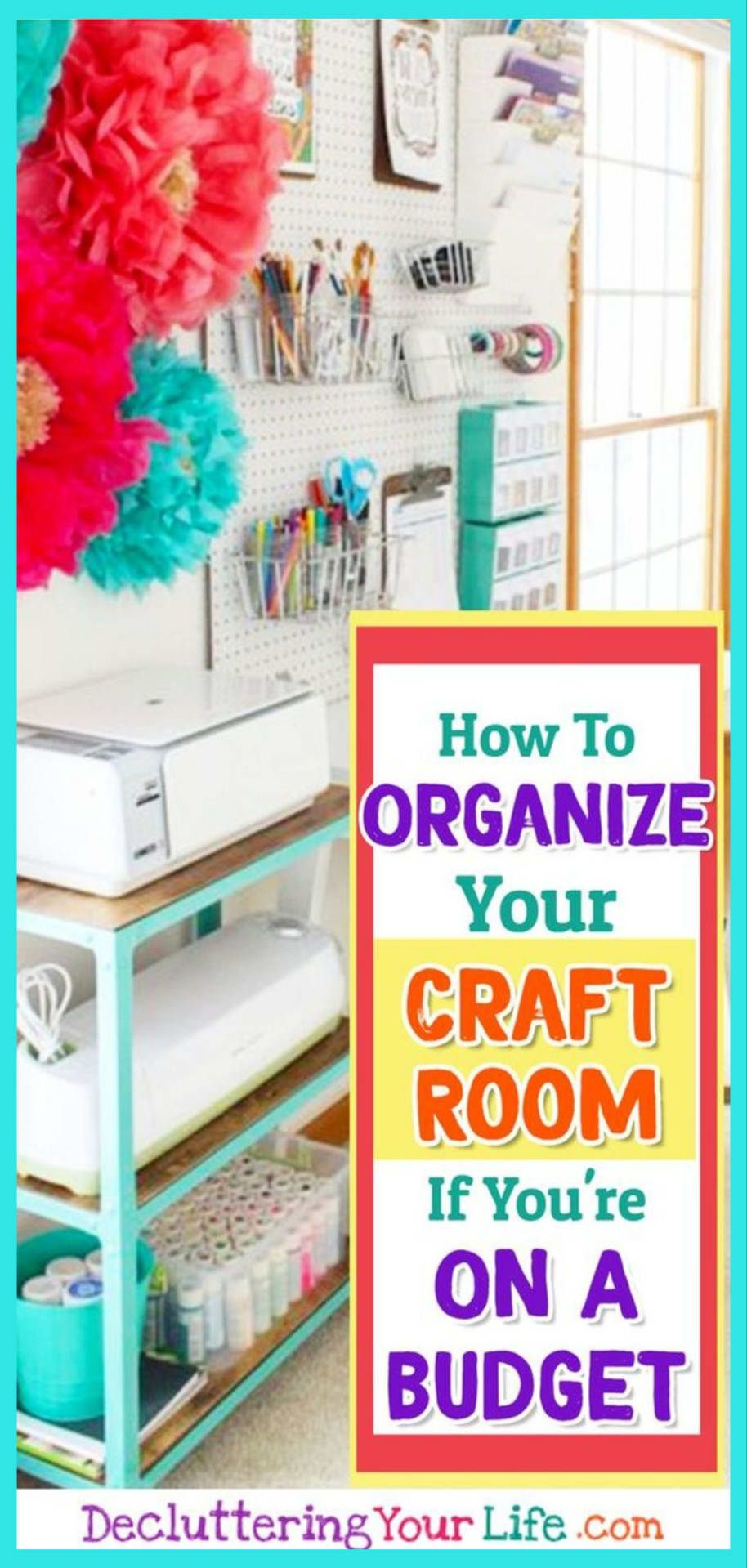 Cheap Craft Room Ideas On A Budget Craft Room And Craft Supplies Organization Ideas On A Bud Craft Room Organization Diy Craft Storage Diy Craft Organization