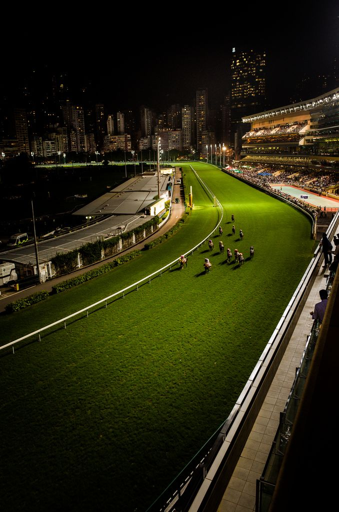 HK - Happy Valley Racecourse - I had all my field hockey practices/games in the center!