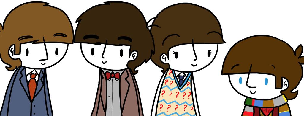 Beatles/Doctor Who by ChazzyLlama.deviantart.com on @DeviantArt