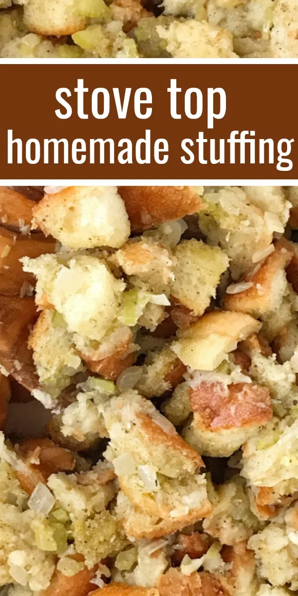 Homemade Stove Top Stuffing -   18 stuffing recipes easy thanksgiving ideas