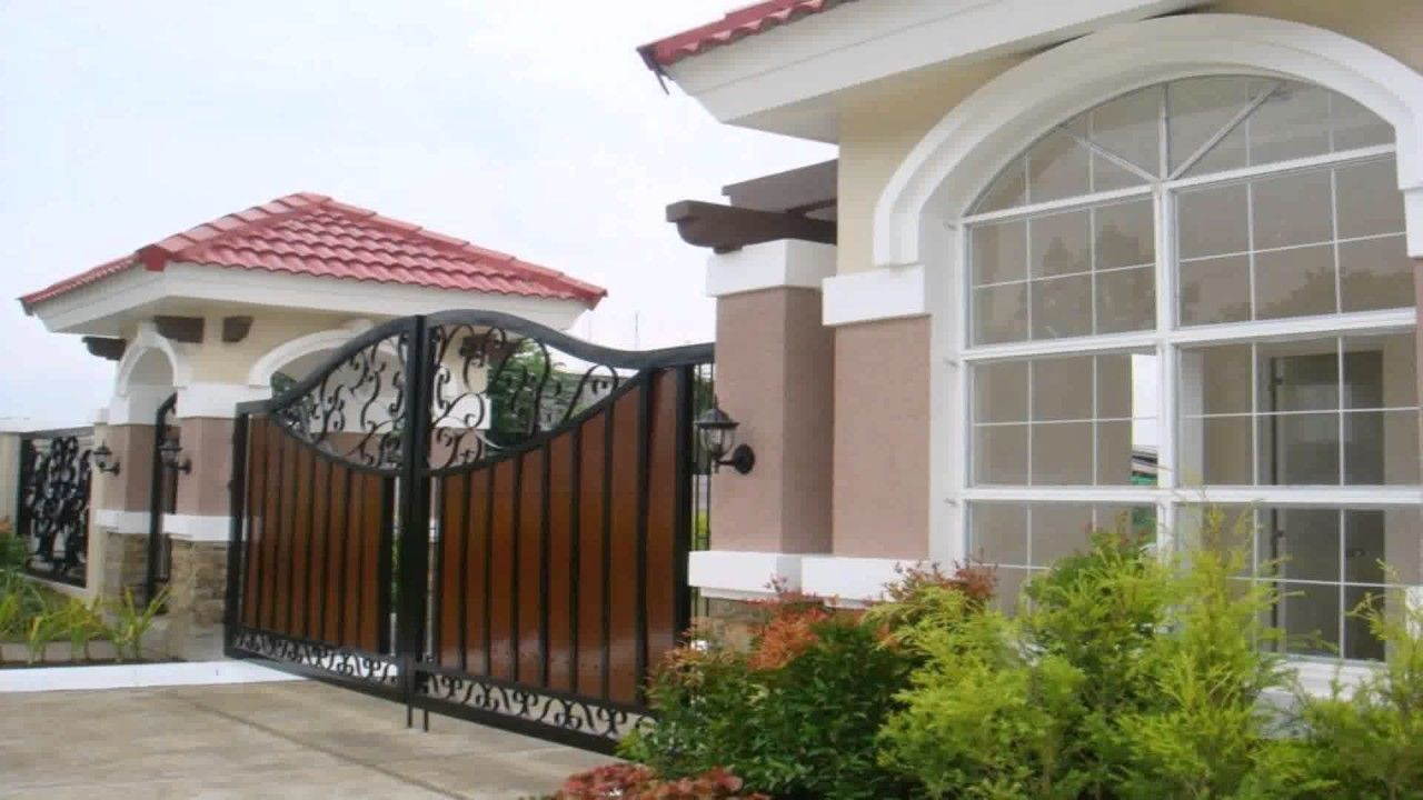 15 Pics Review Main Gate Design For Home Philippines And ...