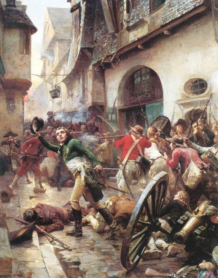 The June Rebellion Or The Paris Uprising Of 1832 Was An