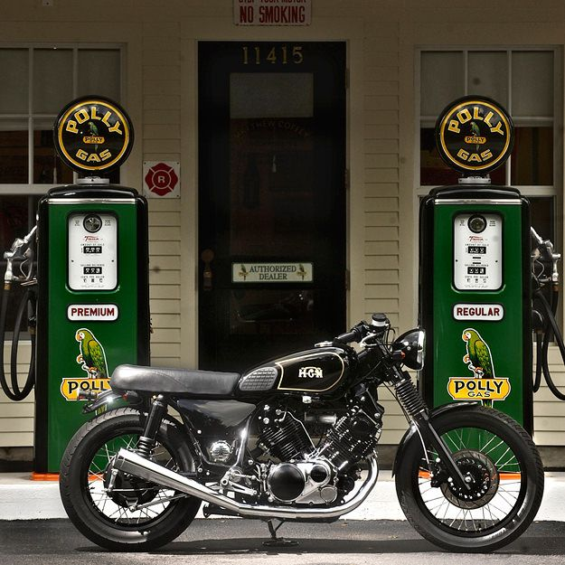 How To Add Vintage Style To The Yamaha Xv1100 Bike Exif Bike Exif Vintage Bikes Bike