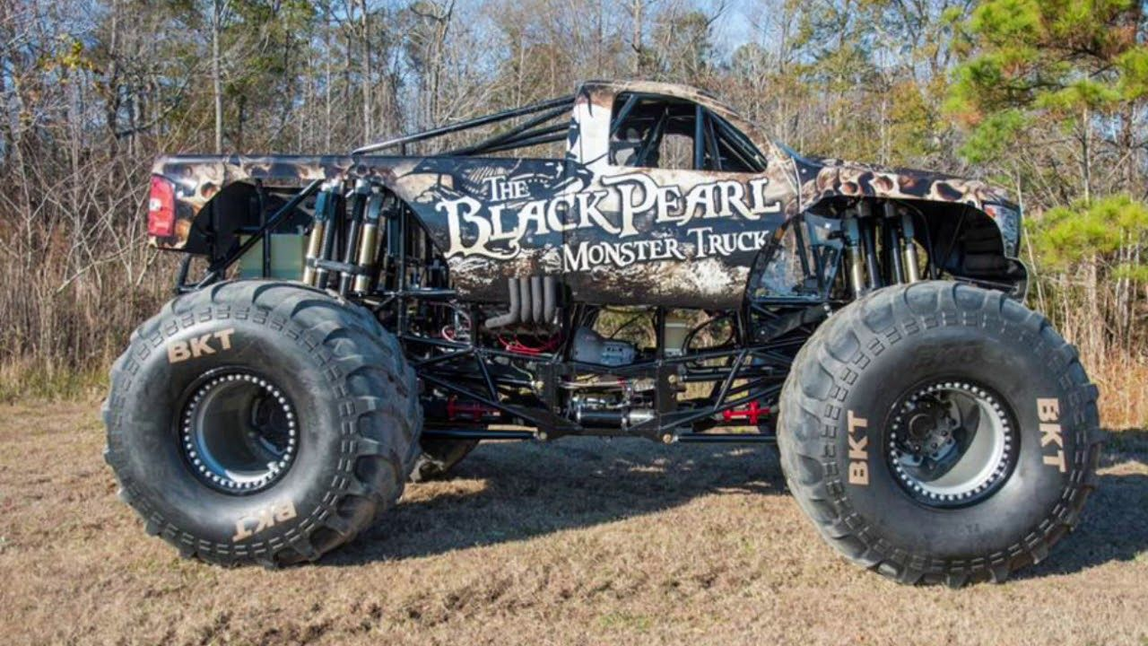 The Black Pearl Monster Truck Theme Song Youtube With Images