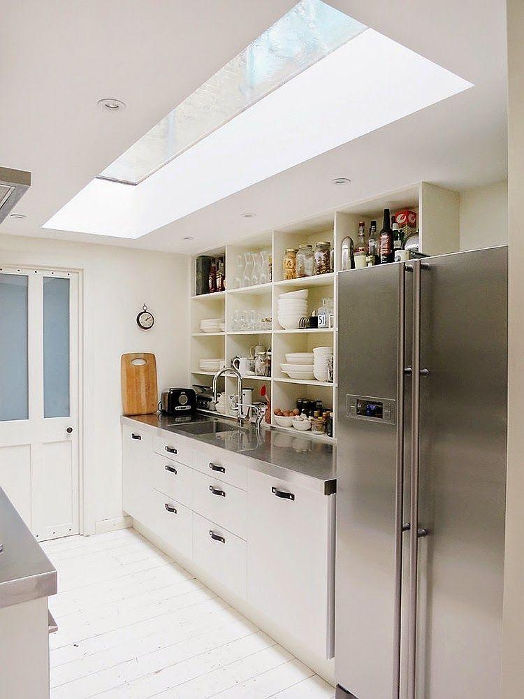 25 Ide Menawan Desain Kitchen Dapur Dengan Atap Kaca Desain