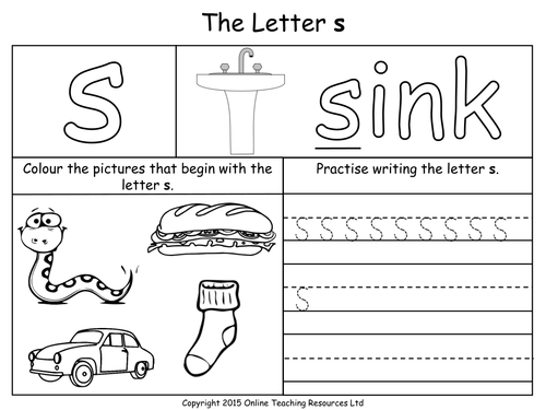 Image Result For S Worksheets Education Pinterest Phonics