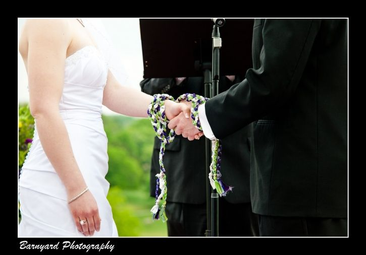 Irish Hand Fasting Tying The Knot Ceremony Ace Conference Center Weddings Outdoor Philadelphia