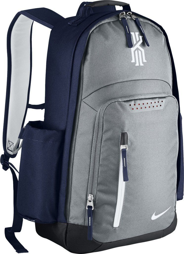 4a1c144646e Amazon.com  Nike mens KYRIE BACKPACK BA5133-012 - WOLF GREY MIDNIGHT  NAVY WHITE  Sports   Outdoors