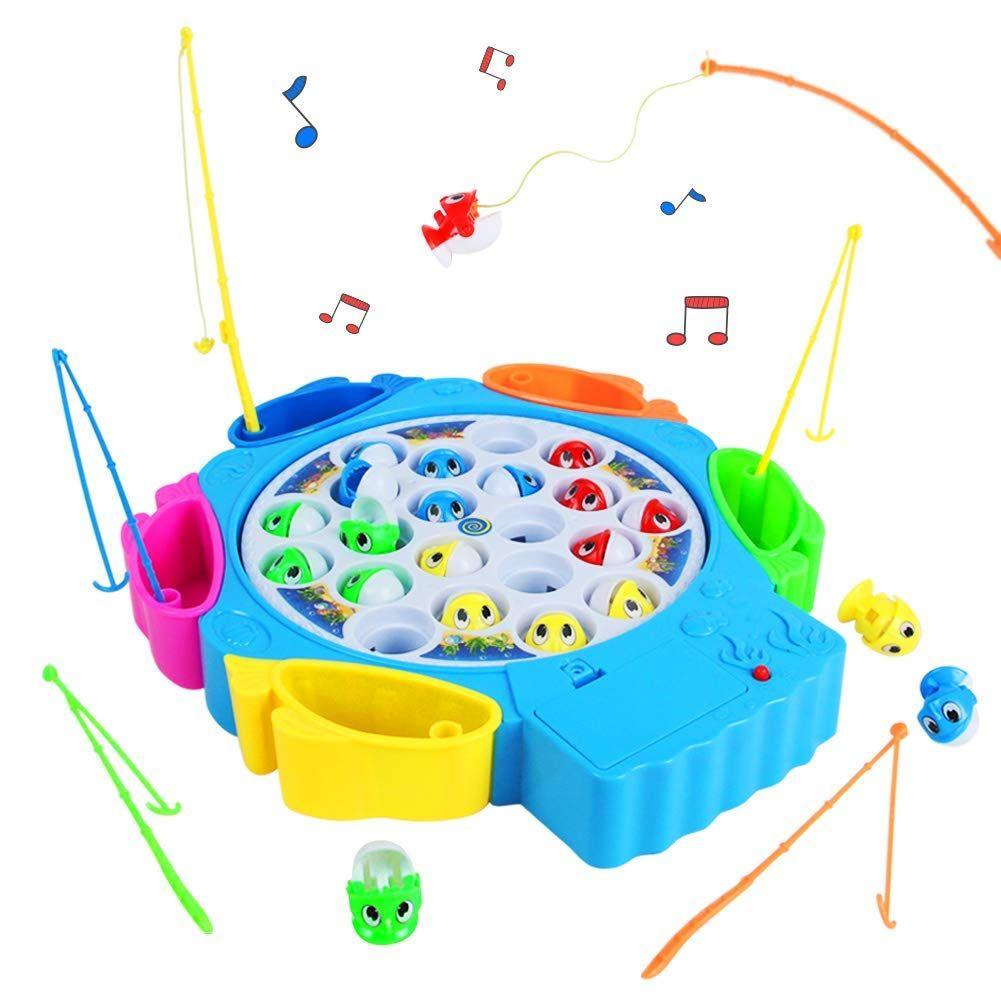 Angelspiel Fisch Spielzeug Angeln Spielzeug Musik Kinderspielzeug Jungs Spielzeug Madchen Spielzeug 3 4 5 Ja Kinder Spielzeug Spielzeug Madchen Kinderfarben