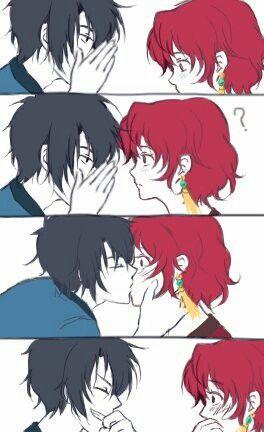 Hak Yona Stealing A Kiss Anime Akatsuki Akatsuki Anime