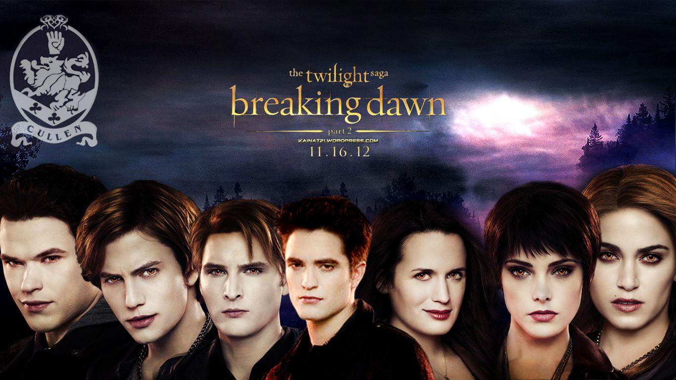 Breaking Dawn Part 2 Cullen Family Breaking Dawn Twilight