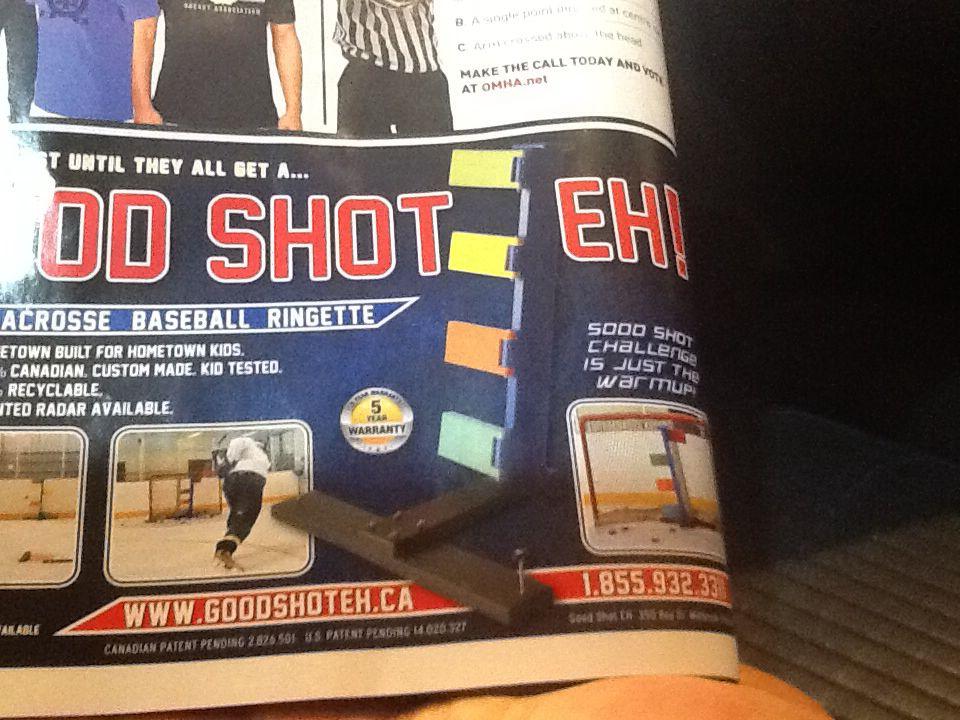 Shooting aid.